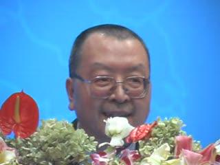 香港物流协会会长叶启明先生讲演