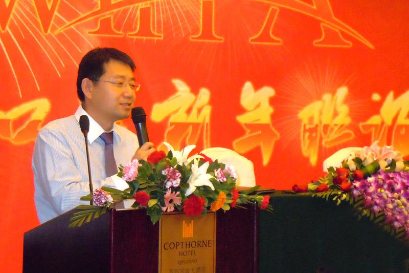 副理事长嘉宏国际魏绪明总经理致新年贺词