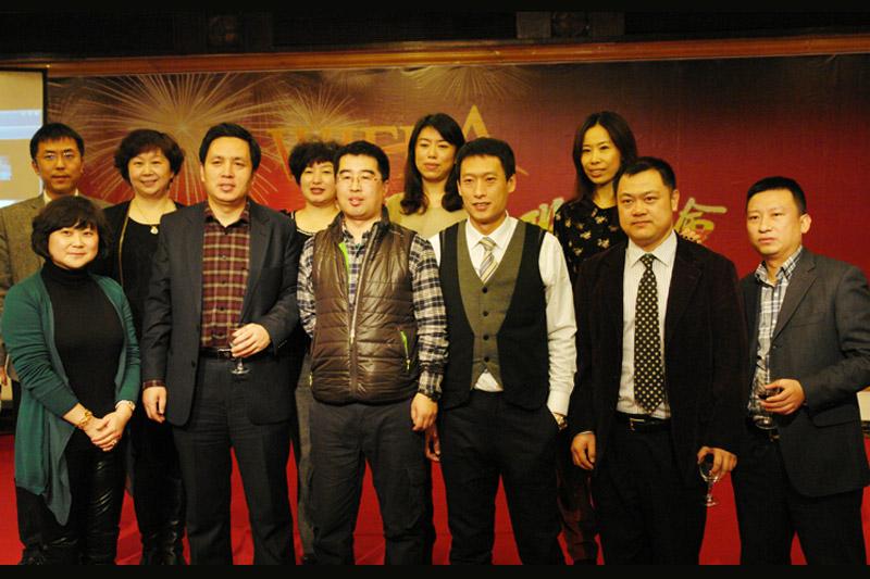 赵淑春总经理带领成员企业老总向其他口岸恭贺新年