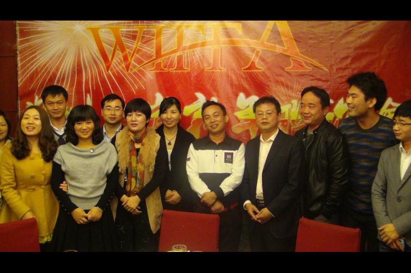深圳口岸晚宴参加人员全体合影