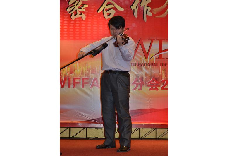 上海东曦船务有限公司林英杰小提琴独奏-新疆之春