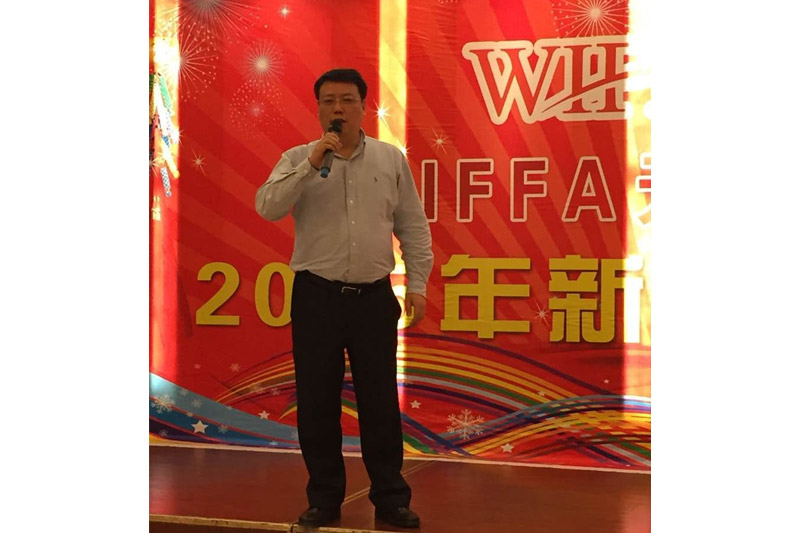 口岸会长孙东升先生致词,欢迎到场的来宾,并对WIFFA天津口岸发展进行展望